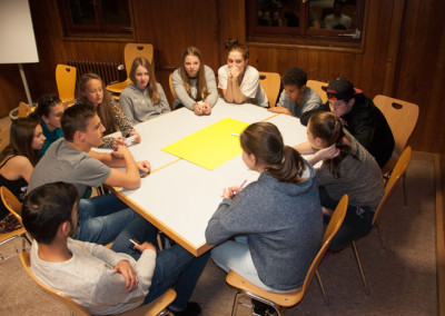 Klassensprecher auf der SMV Tagung
