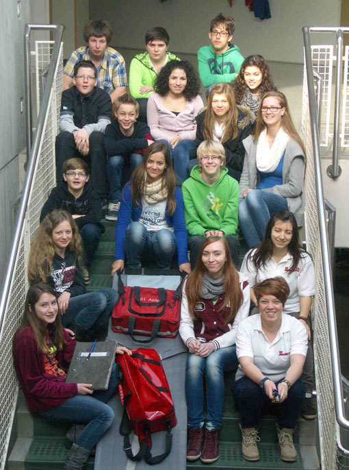 Schülersanitäter 2012 - 2013