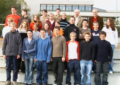 Schülersanitäter 2004