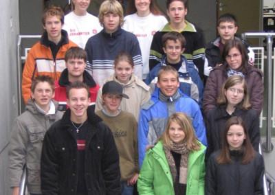 Schülersanitäter 2005 - 2006