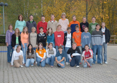 Schülersanitäter 2006 - 2007