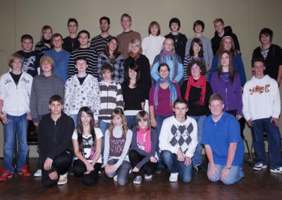 Schülersanitäter 2008 - 2009