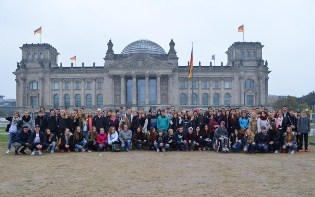 Berlinfahrt der Klassen 10