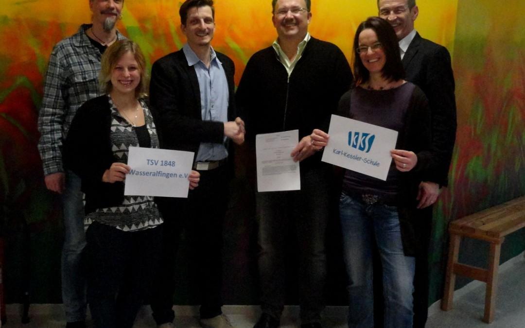 Kooperation von Karl-Kessler-Schule und TSV Wasseralfingen