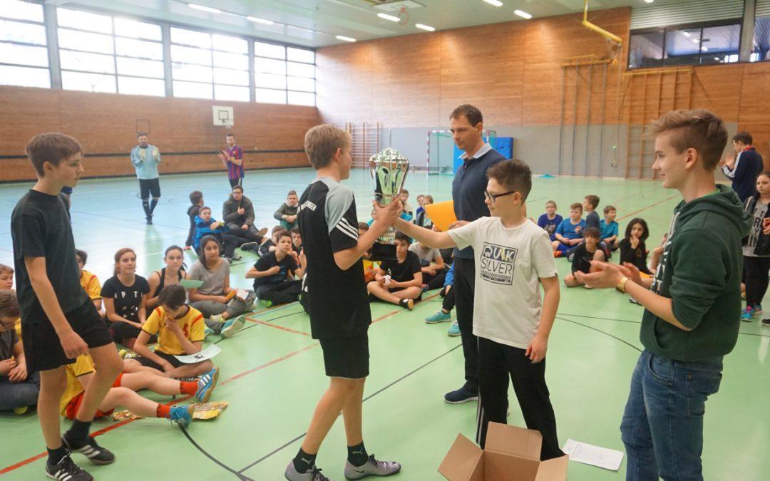 Klasse R9a erfolgreich beim Fußballturnier