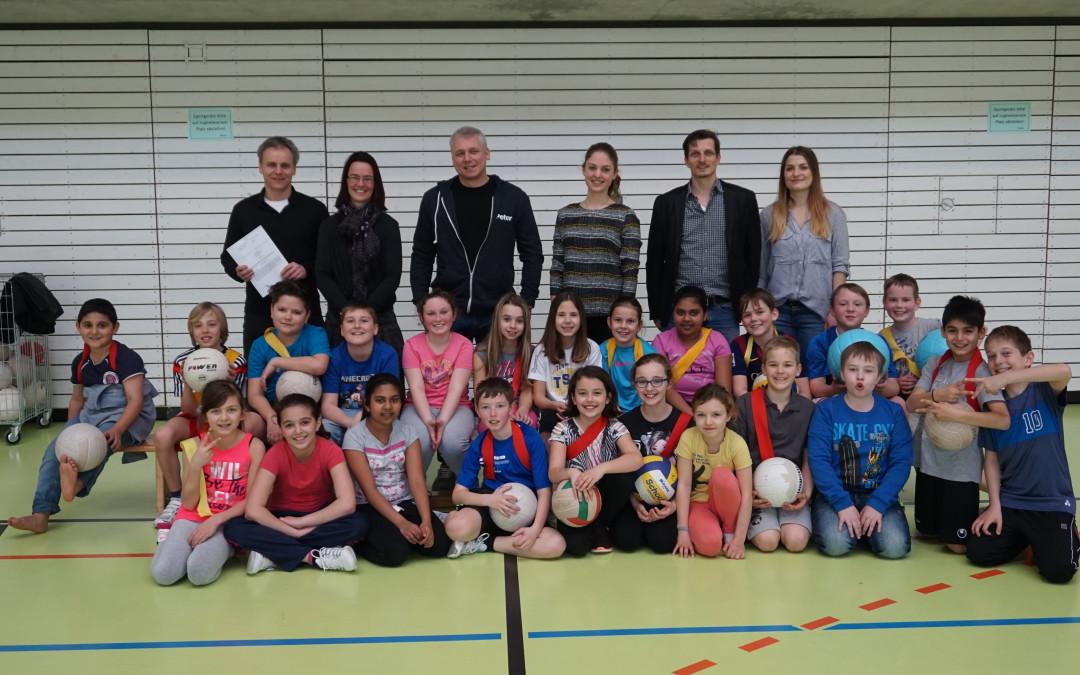 Karl-Kessler-Schule kooperiert mit MTV Aalen –  Bildung und Sport ergänzen sich