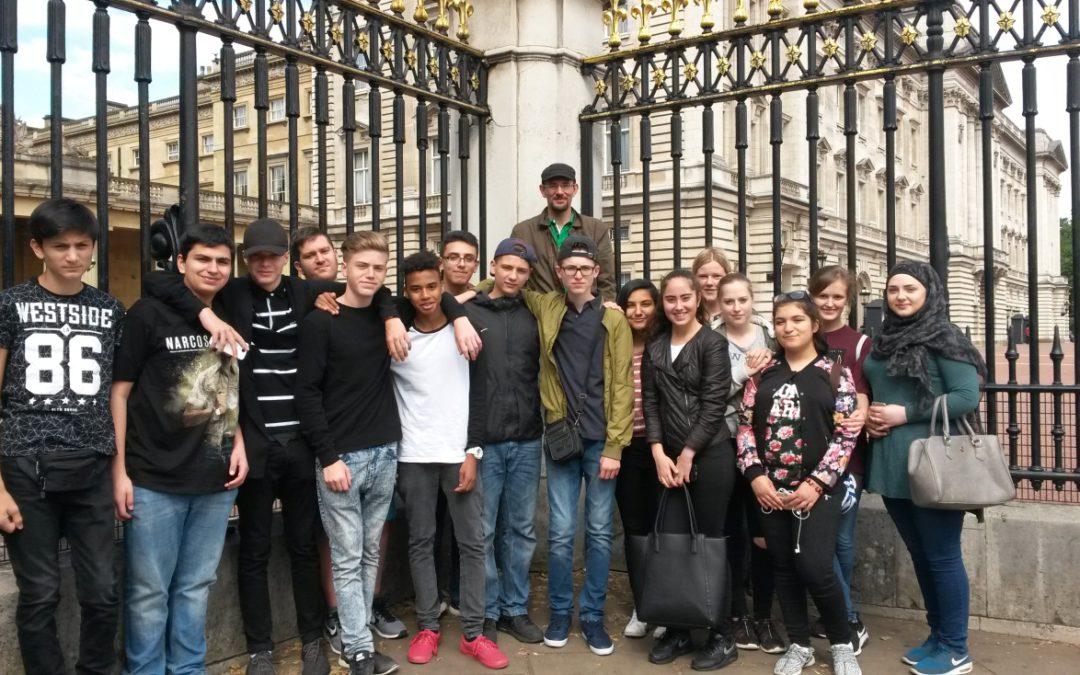 Abschlussfahrt Klasse 9b nach London