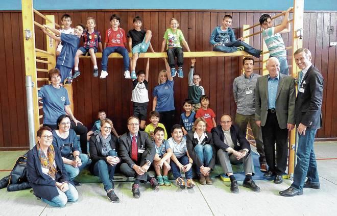 Der Dachverband der Sportvereine im Landkreis stellt Wasseralfinger Kooperation Ganztagsschule – Verein als gutes Beispiel vor.