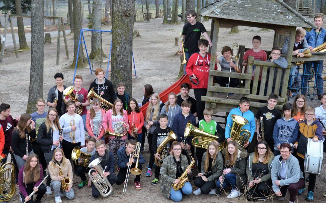 Mehrtägiger Ausflug der Bläserklassen und des Schulorchesters