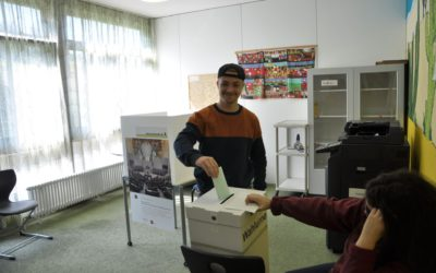 Karl-Kessler-Schule nimmt an der Juniorwahl teil