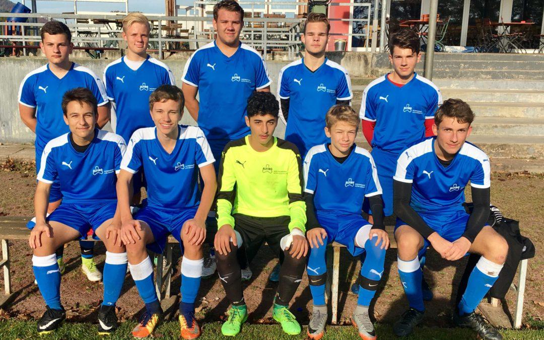 Triumph der KKS in der 1. Runde bei Jugend trainiert für Olympia – Fußball