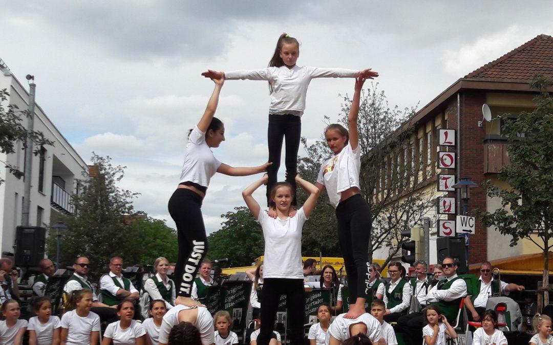 KKS-Akrobaten in Aktion