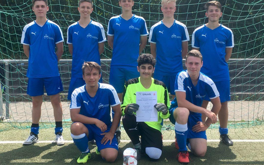 Karl-Kessler- Schule triumphiert im Regierungspräsidiumsfinale