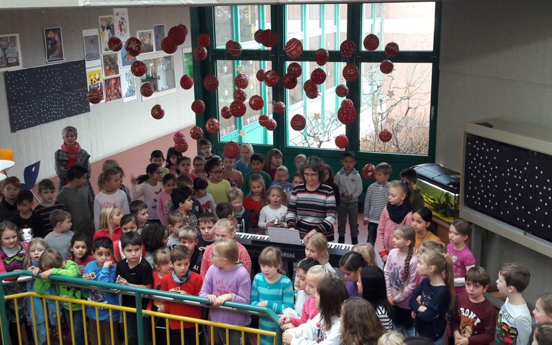 """""""Alle Jahre wieder…"""" – musikalische Vorfreude unserer Grundschule"""