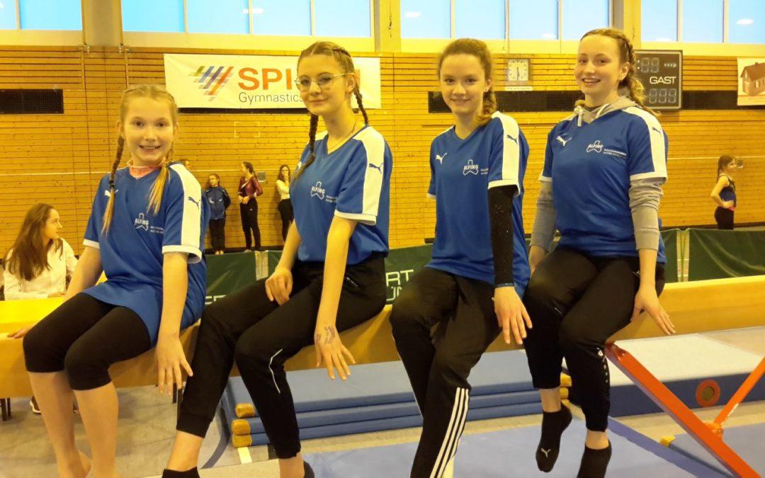 Jugend trainiert für Olympia Geräteturnen