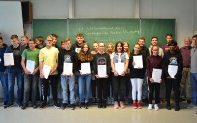 KKS-Schüler erfolgreich beim Schülerwettbewerb des Landtages