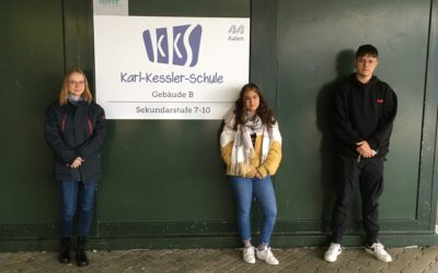 Erste digitale Schülersprecherwahl der KKS