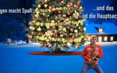 Weihnachtliche Grüße der Medien- und Band-AG