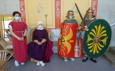 W6 zu Besuch im Limesmuseum