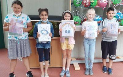 Wettbewerb für das Deckblatt des Grundschul-Schulplaners